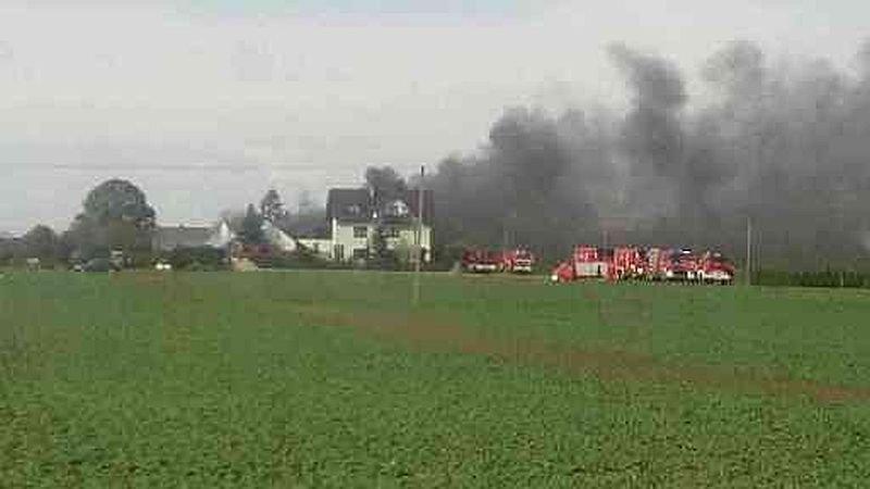 Strażacy walczą z ogromnym pożarem AKTUALIZACJA