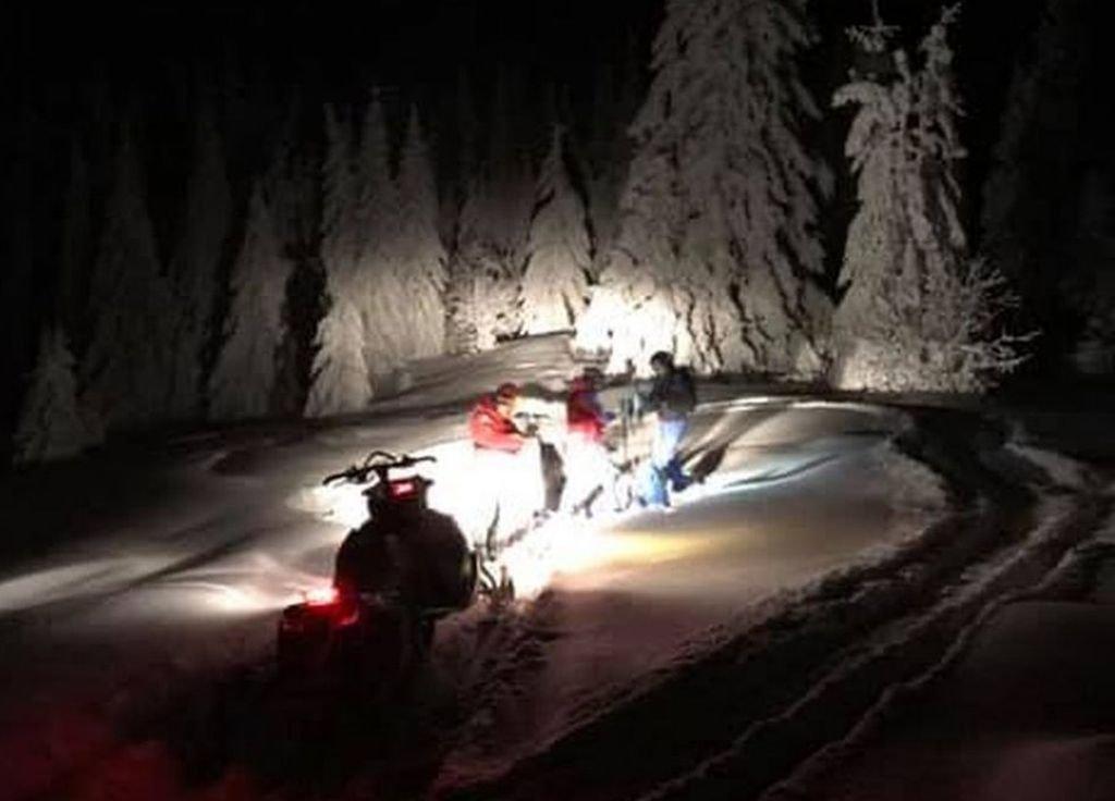 Szukali snowboardzisty w Beskidach
