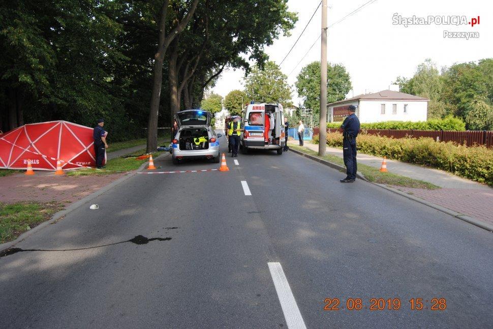 W Wypadku Zginął Motocyklista