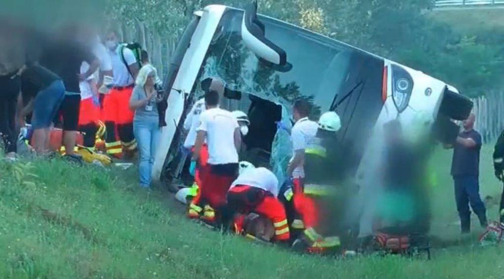 Bielski autokar miał wypadek na Węgrzech AKTUALIZACJA