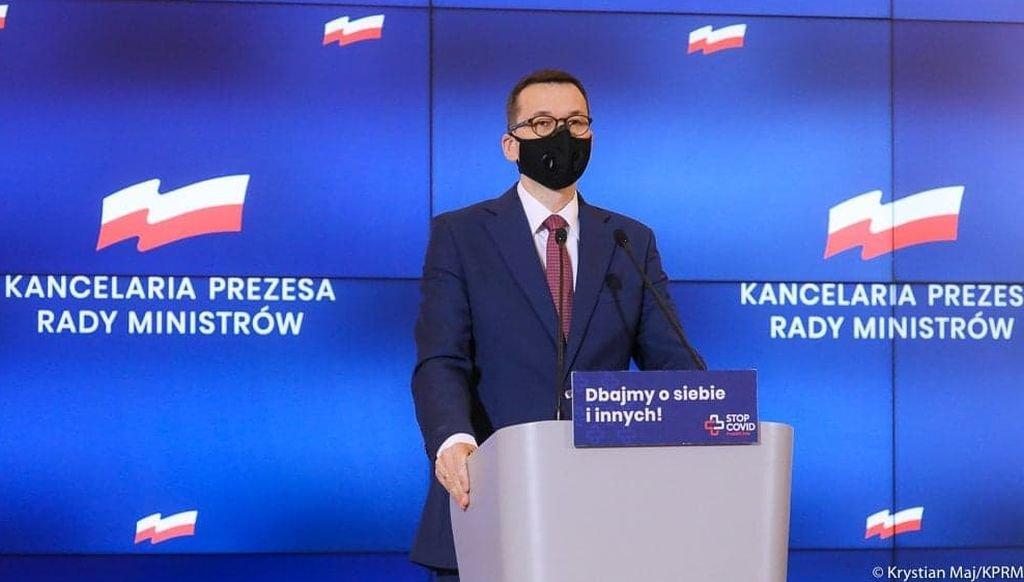 """Premier Ogłosił """"100 Dni Solidarności"""""""
