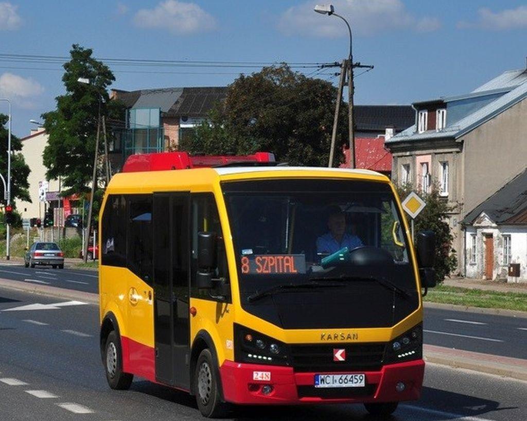 Autobusy Na Nowej Linii