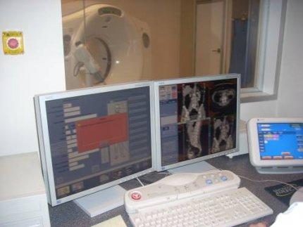 Nowoczesny tomograf w szpitalu ogólnym