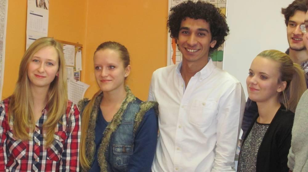 Z Egiptu na wykład z czechowickimi uczniami