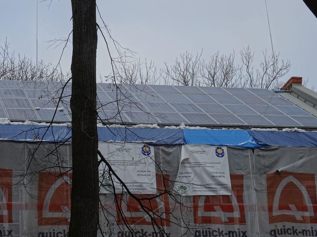 """""""Elektrownia"""" na dachu"""