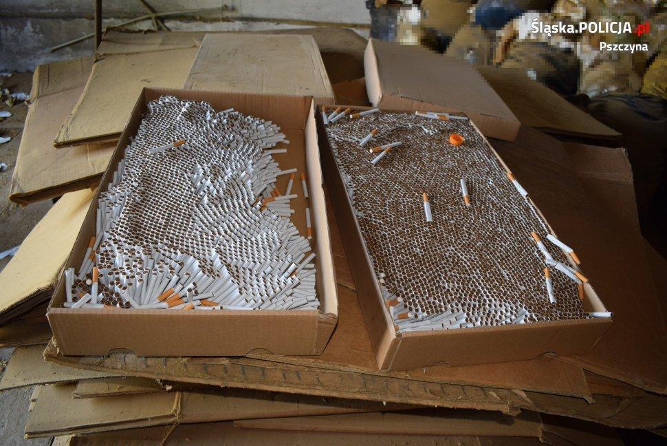 Ukraińcy Prowadzili Nielegalną Fabrykę Papierosów
