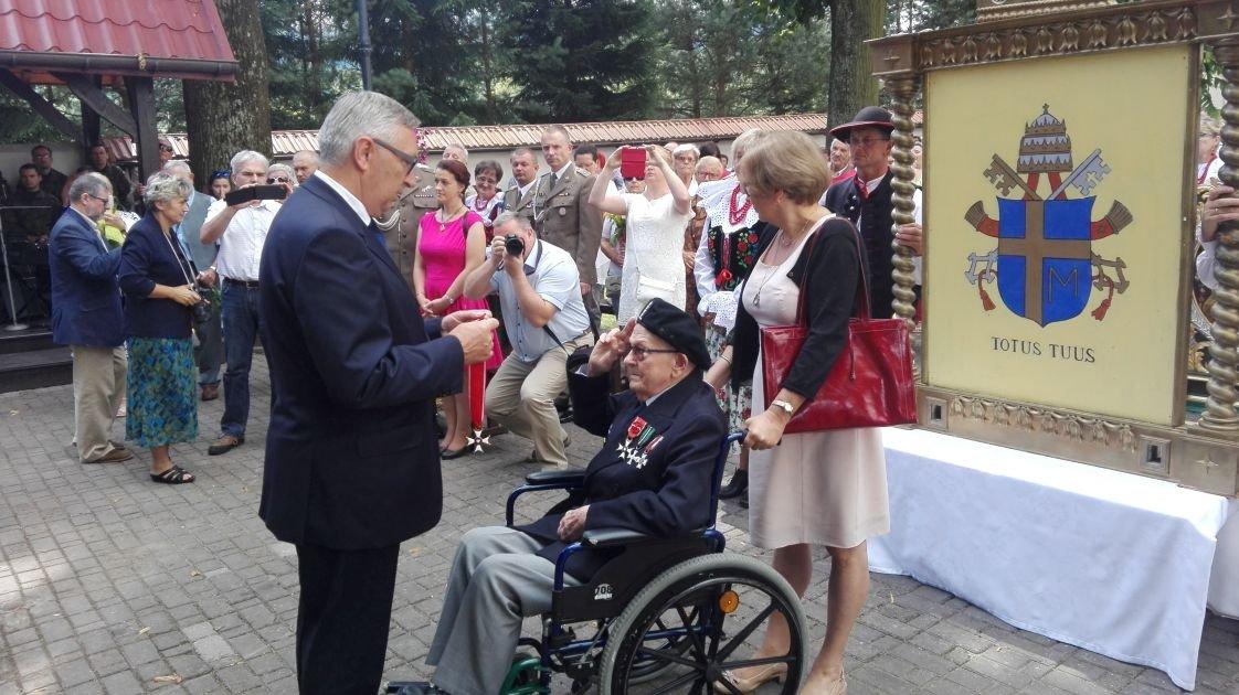 Bielski Garnizon Świętował W Bazylice