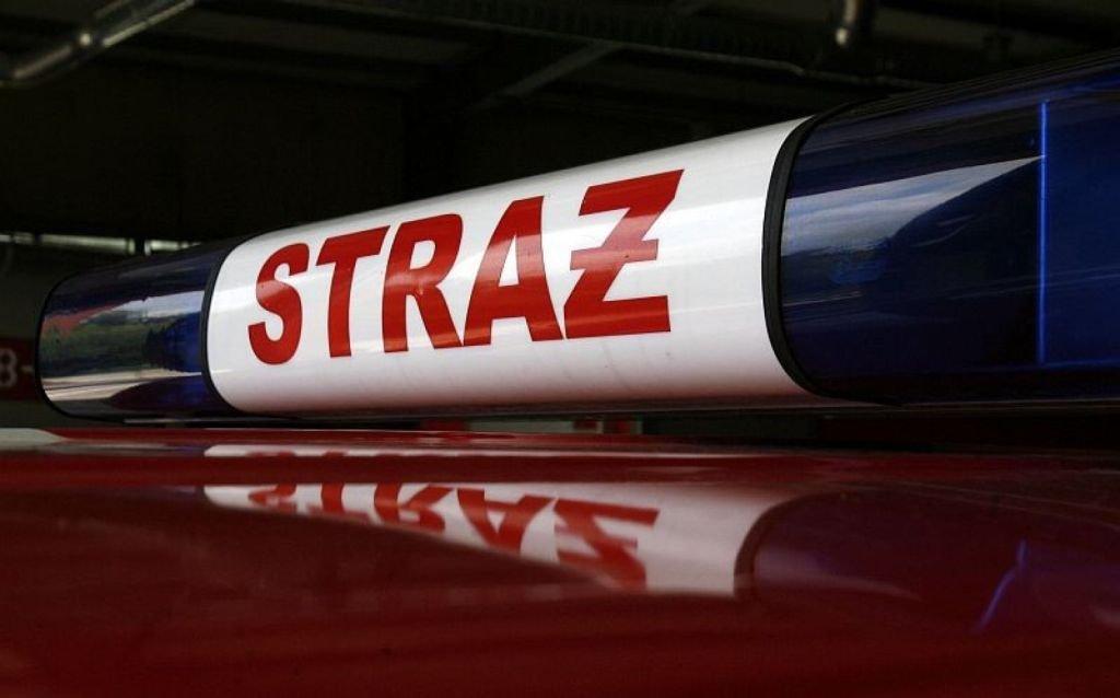 Dziewięć Zastępów Strażaków W Akcji