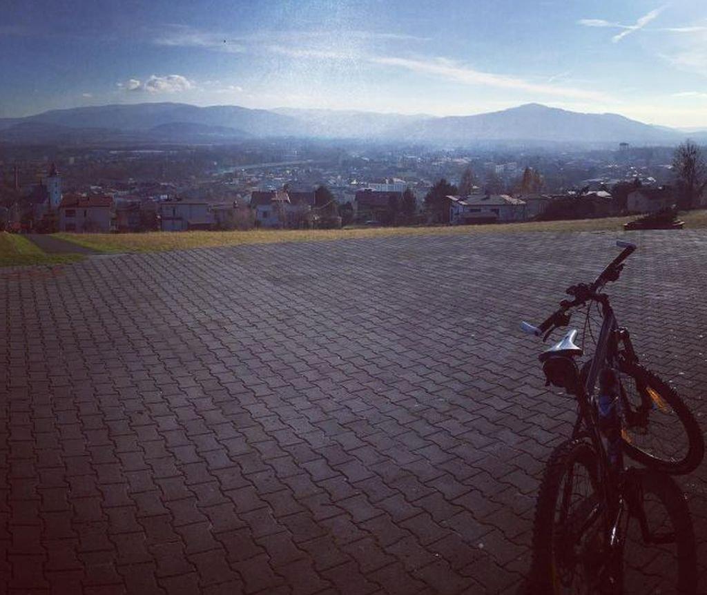 Jak rowerem, to tylko w pięknej scenerii!