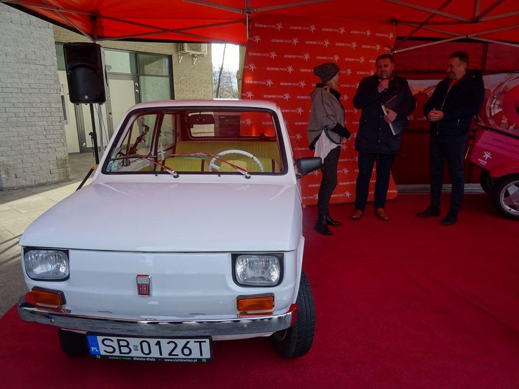 Najsłynniejszy Fiat 126 P Opuścił Bielsko-Białą!