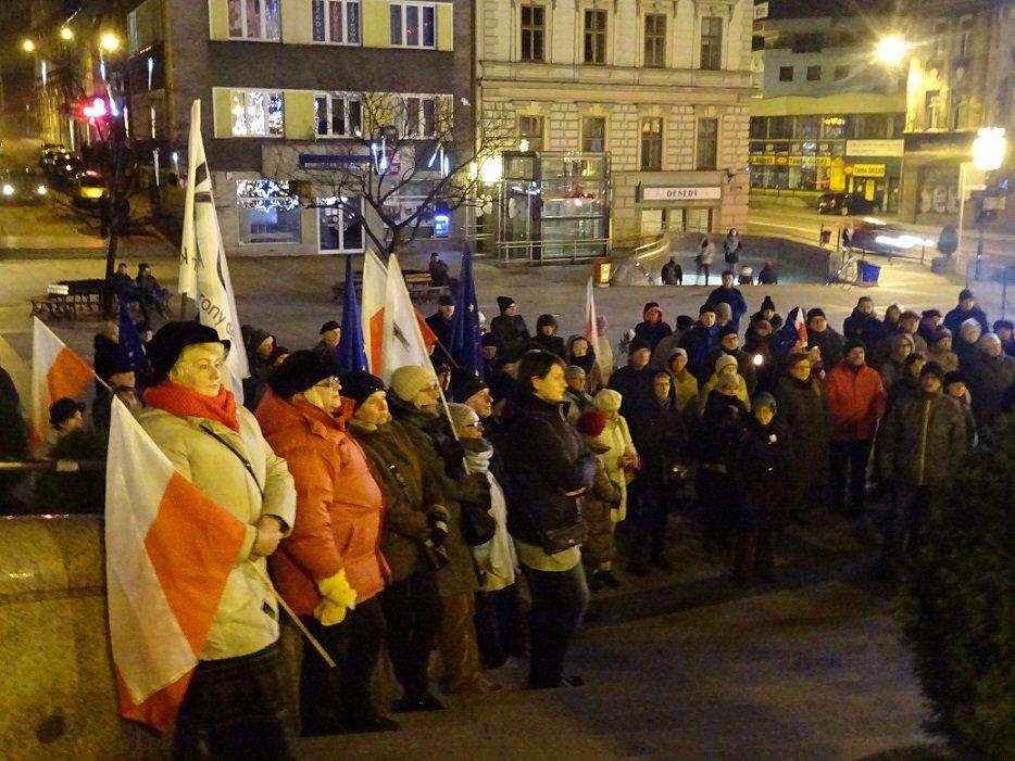 Protestowali W Centrum Miasta