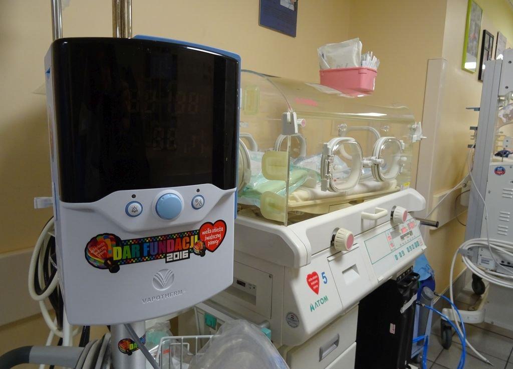 WOŚP. Sprzęt ratuje noworodki