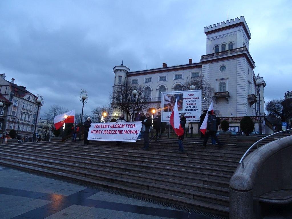 Manifestacja W Centrum. Drastyczne Zdjęcia