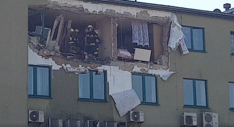 Wybuch Butli. Mieszkanie W Ruinie
