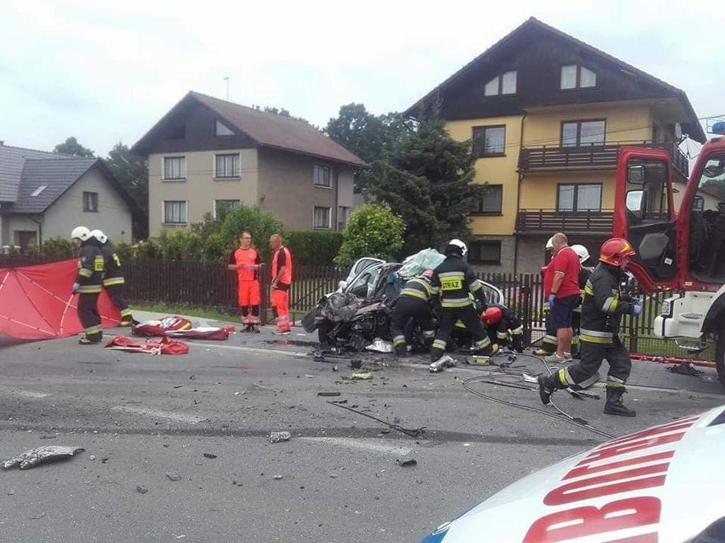 Koszmarny wypadek. Kobieta zginęła na miejscu