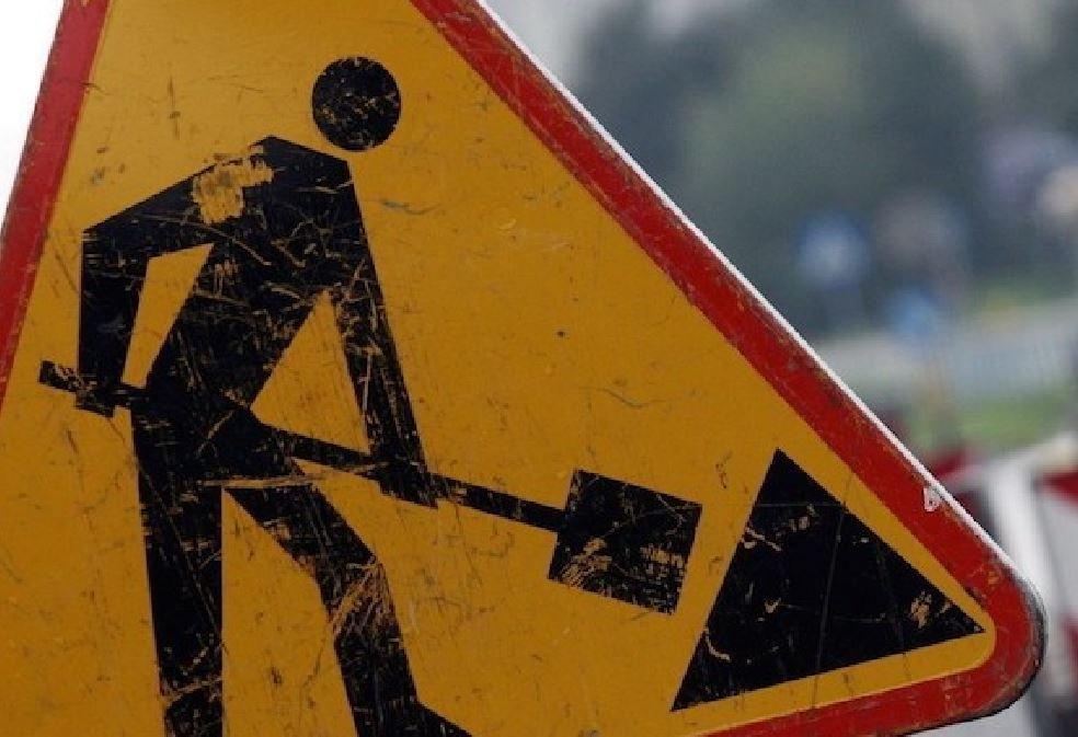 Zamknięta droga i wahadło. Spore utrudnienia