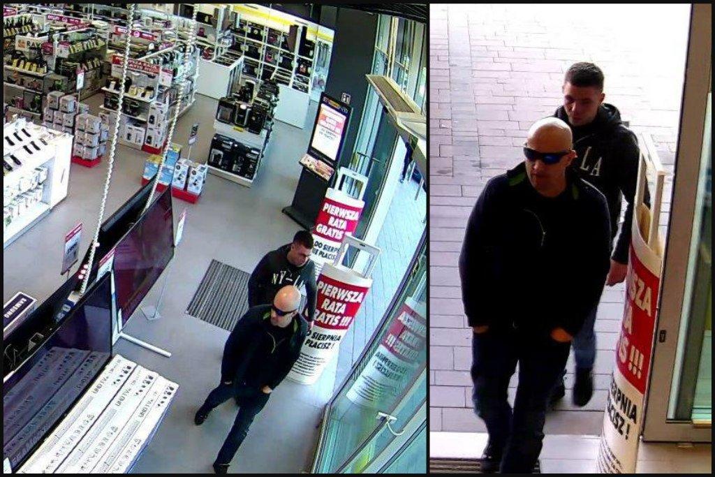 Ukradli 55-Calowy Telewizor... Szuka Ich Policja