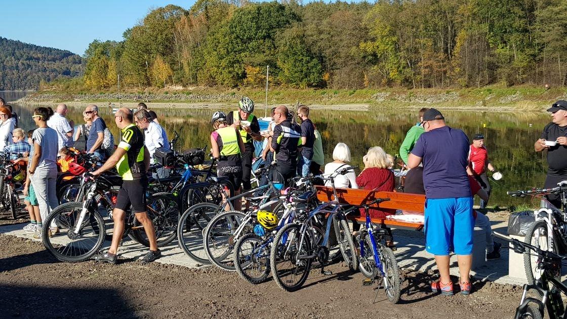 7 km ścieżki i tłumy rowerzystów