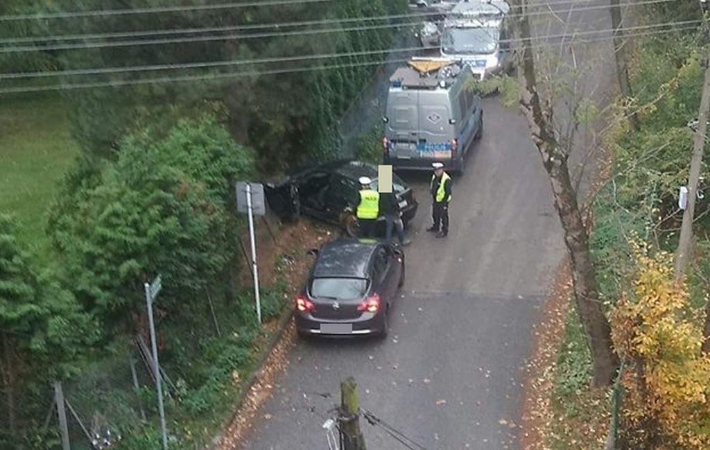 Policyjny Pościg Za Kierowcą Audi. Miał Amfetaminę