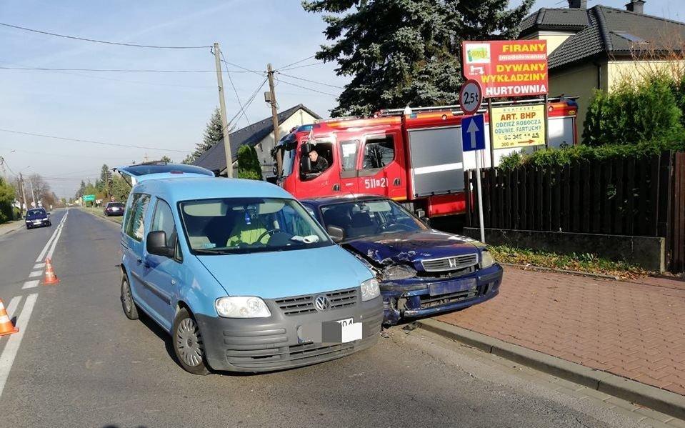 Wypadek podczas wyprzedzania