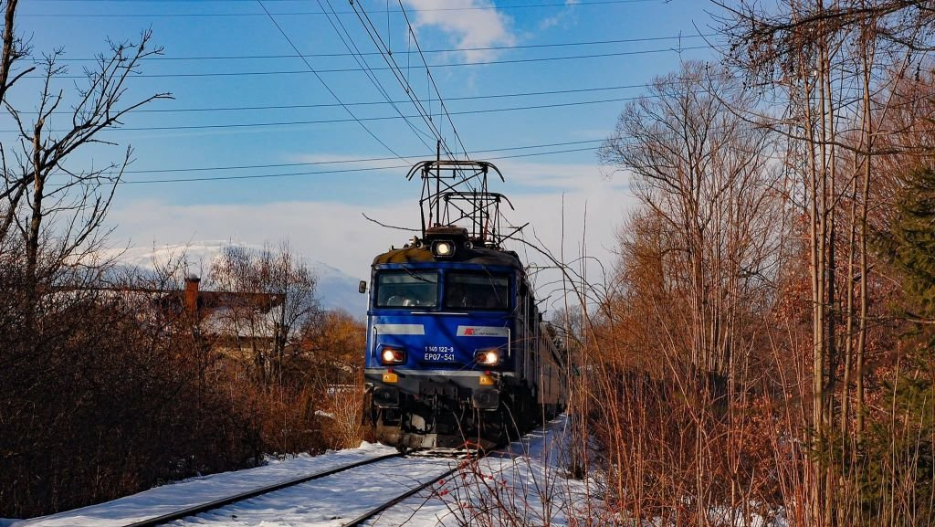Na skoki pociągiem!