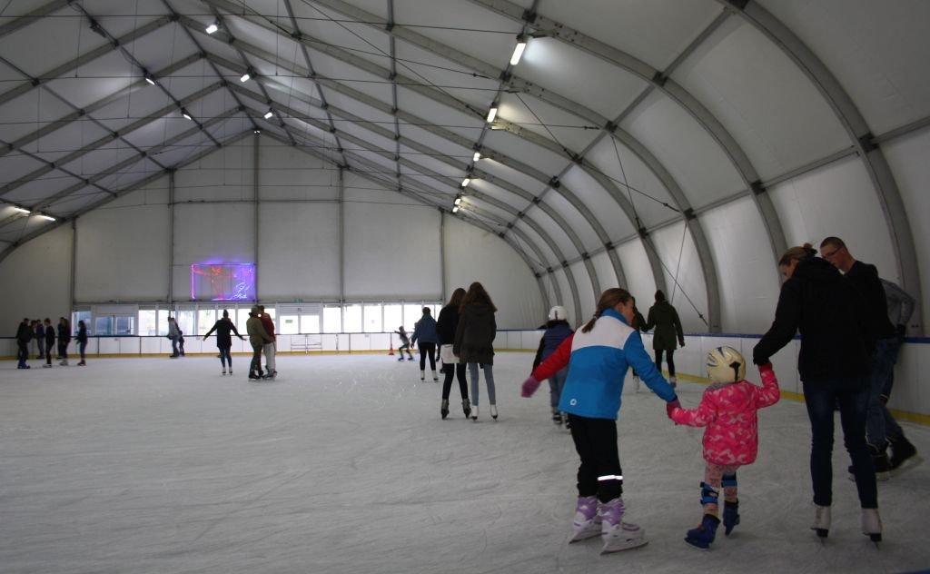 Czekamy na was przy lodowisku!