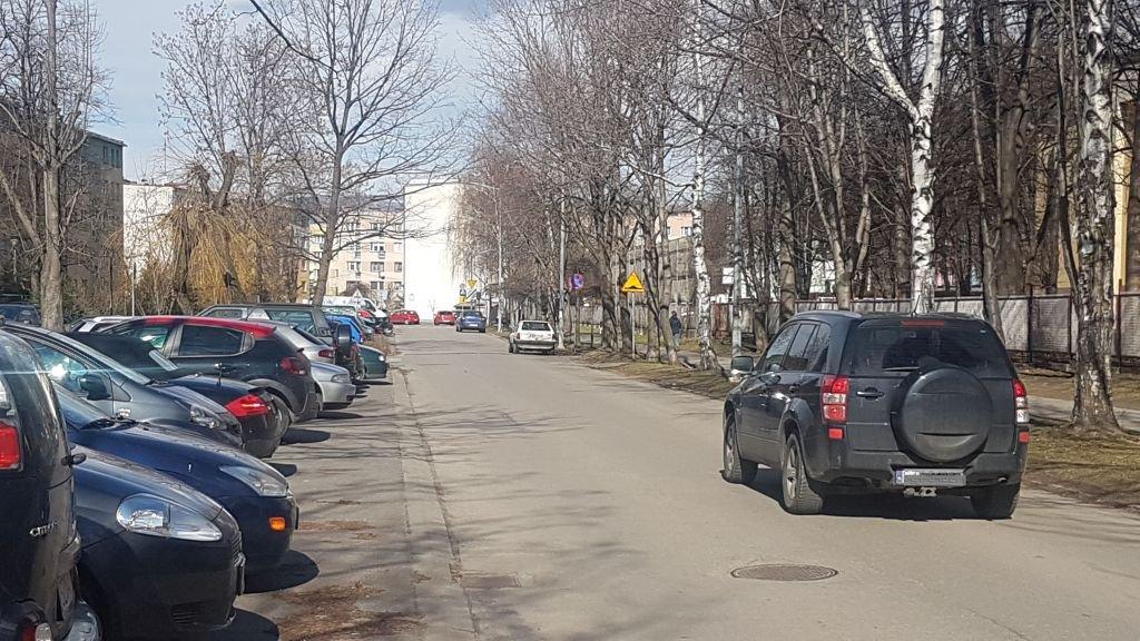 Parkują Na Jezdni, Chodnikach I Skwerach