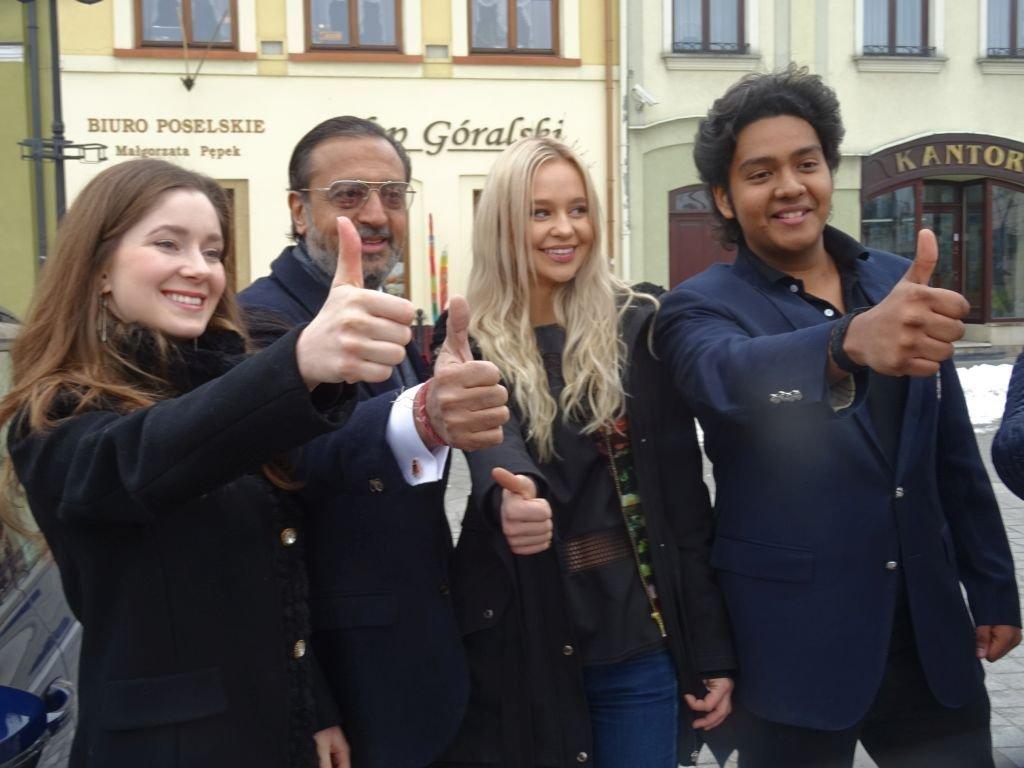 Aktor Bollywood trenuje w Bielsku-Białej!