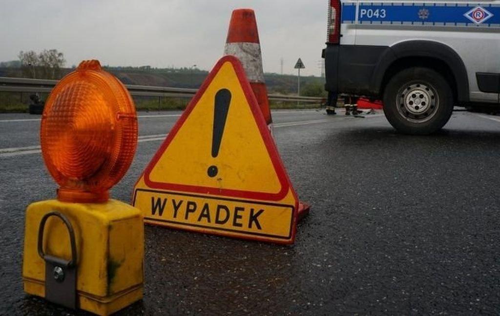 Poważny wypadek! Droga nieprzejezdna AKTUALIZACJA