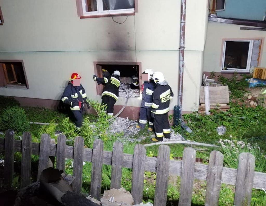Stracili dach nad głową. Ogień pochłonął wszystko