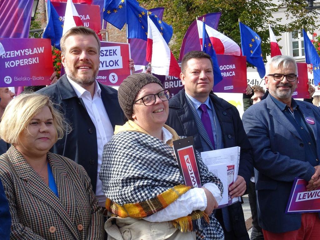 Lewicobus Zaparkował W Bielsku-Białej
