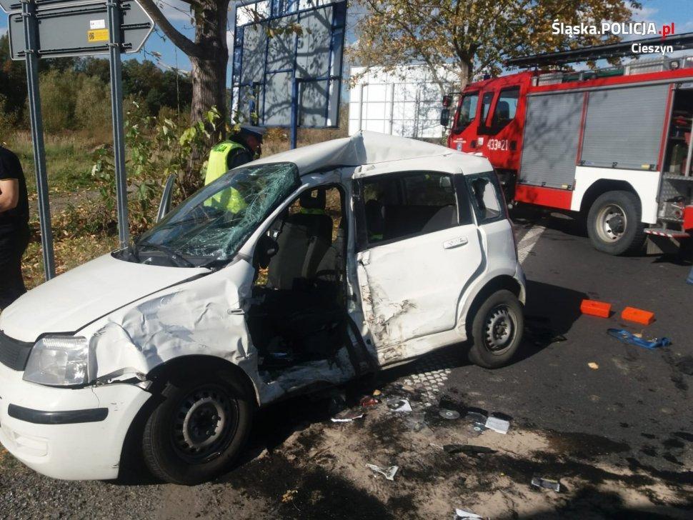 Kierowca Zmarł W Szpitalu