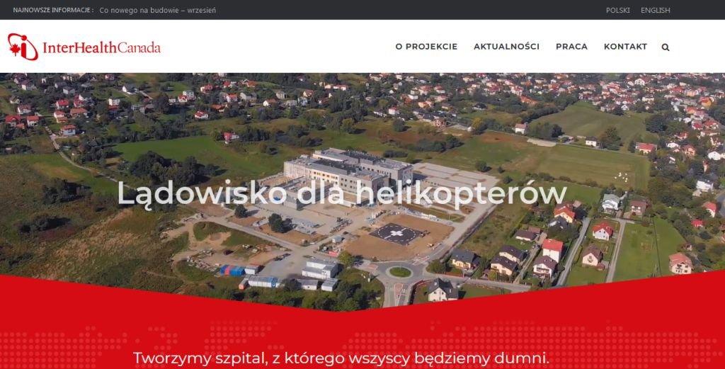 Szpital z komunikacyjnym kanałem