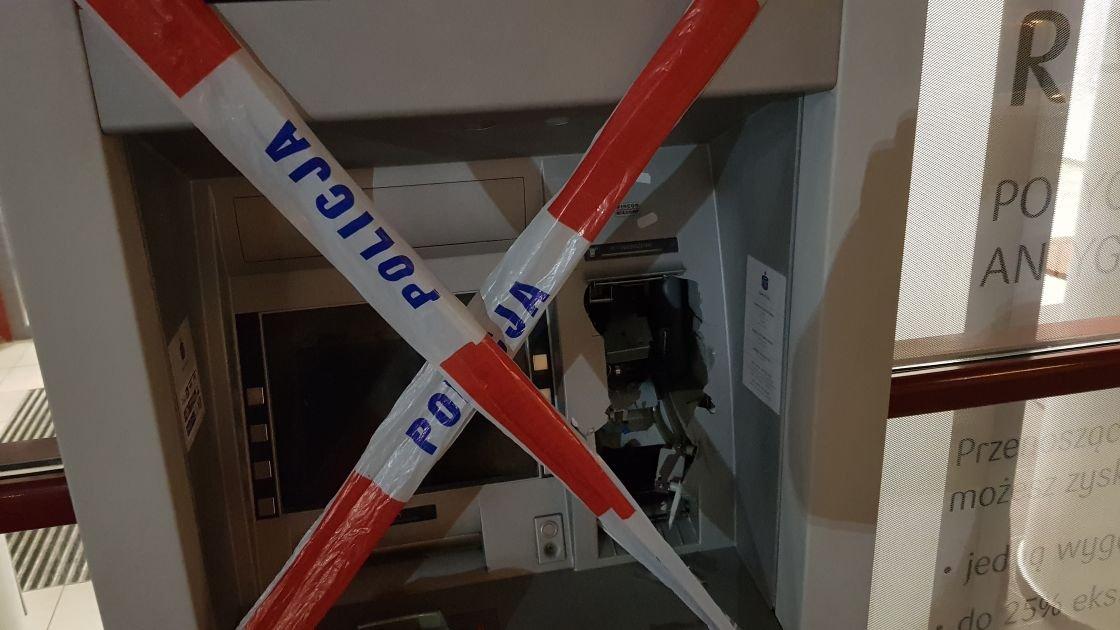 Zniszczony Bankomat. To Nie Było Wlamanie