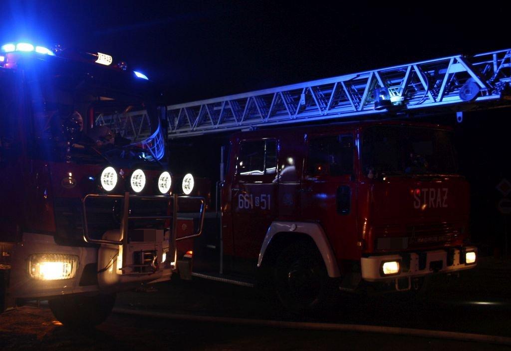 Nocny Pożar Drewnianego Domu. Nie Żyje Kobieta [Aktualizacja]