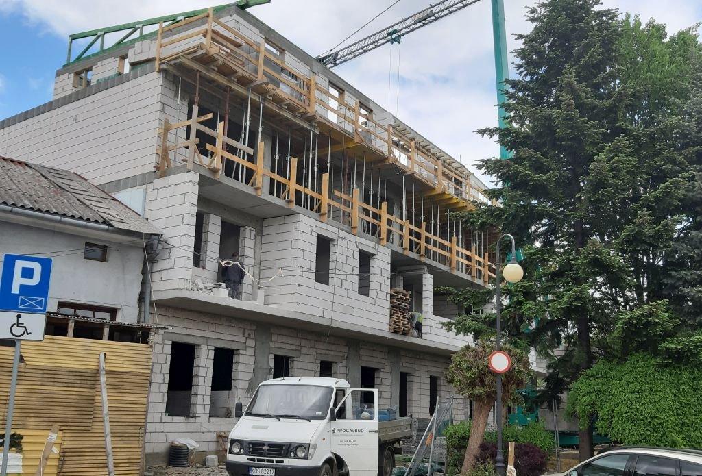 Budują Nowe Mieszkania
