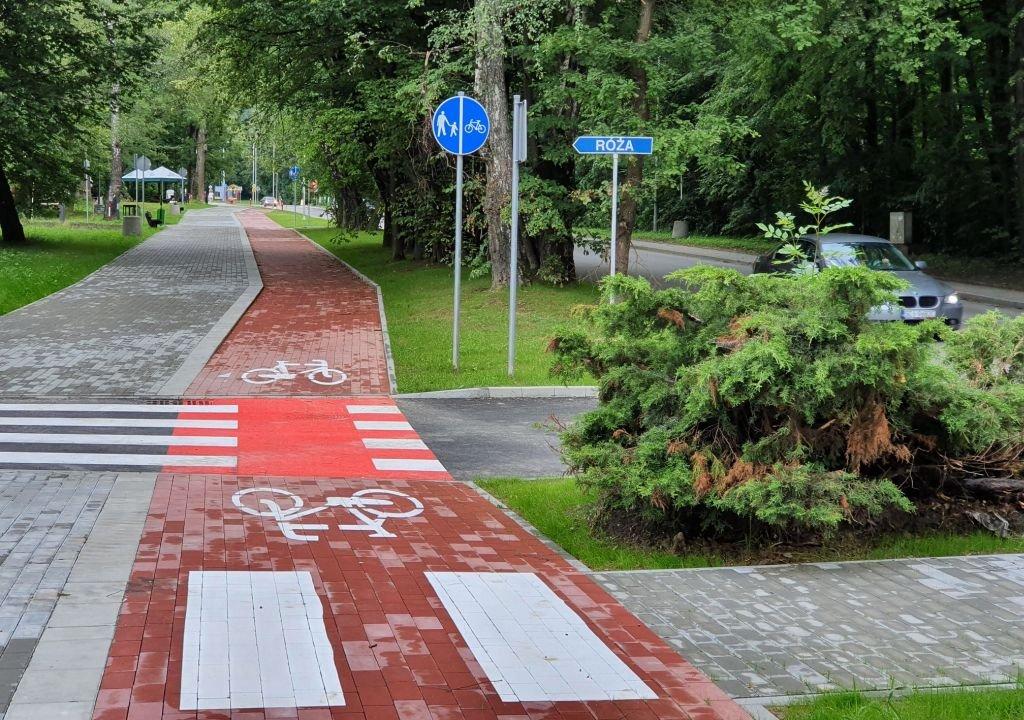 Ścieżka dla rowerów. Rolkarze narzekają