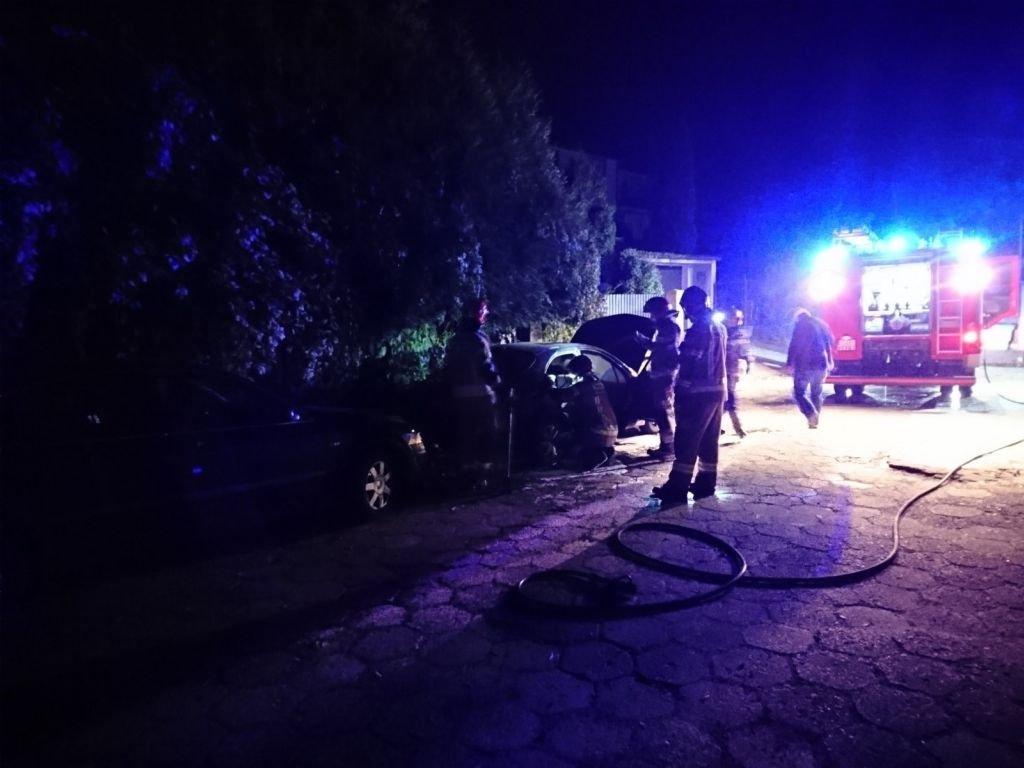 Auta Zostały Podpalone?