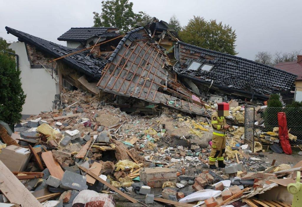Eksplozja gazu: ruszyła zbiórka na odbudowę domu