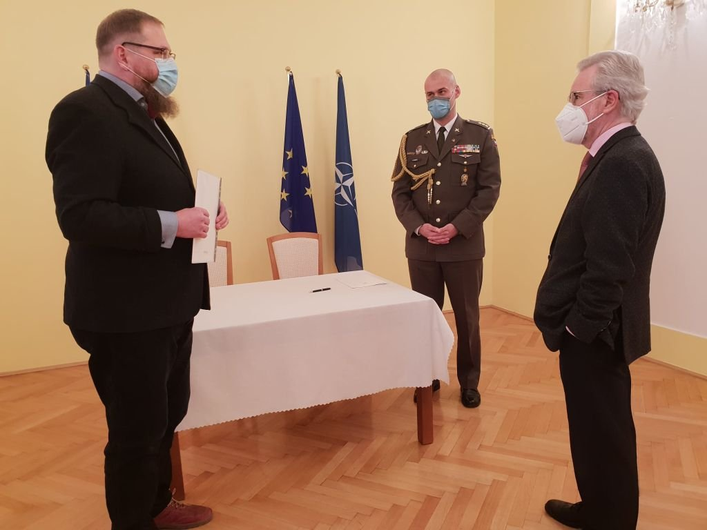 Czeskie Ministerstwo Obrony Wsparło Państwowe Muzeum Auschwitz-Birkenau