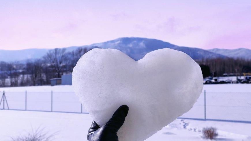 Śnieżne serce wygrało