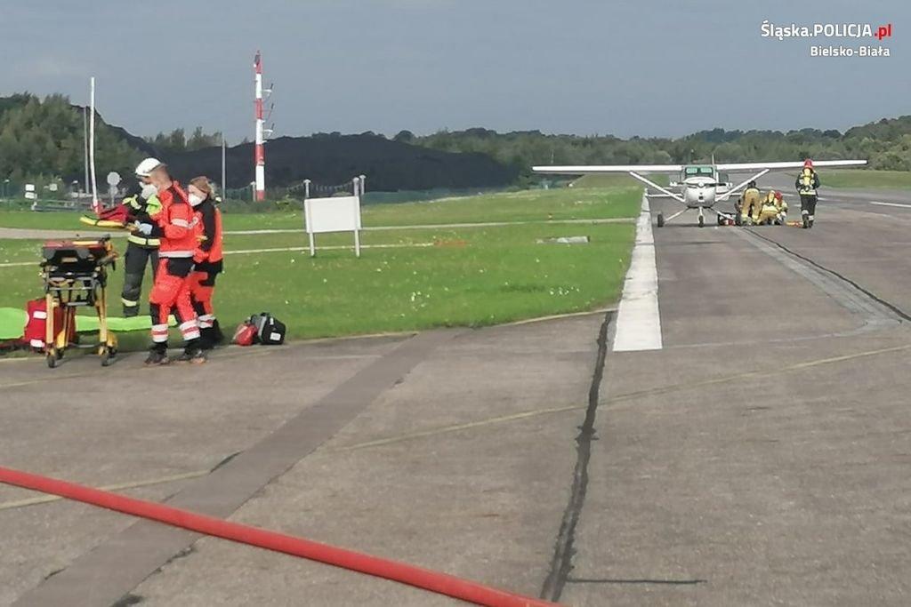Wypadek Na Lotnisku