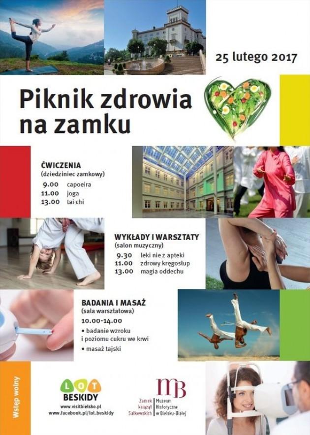 Piknik Zdrowia Na Zamku Książąt Sułkowskich