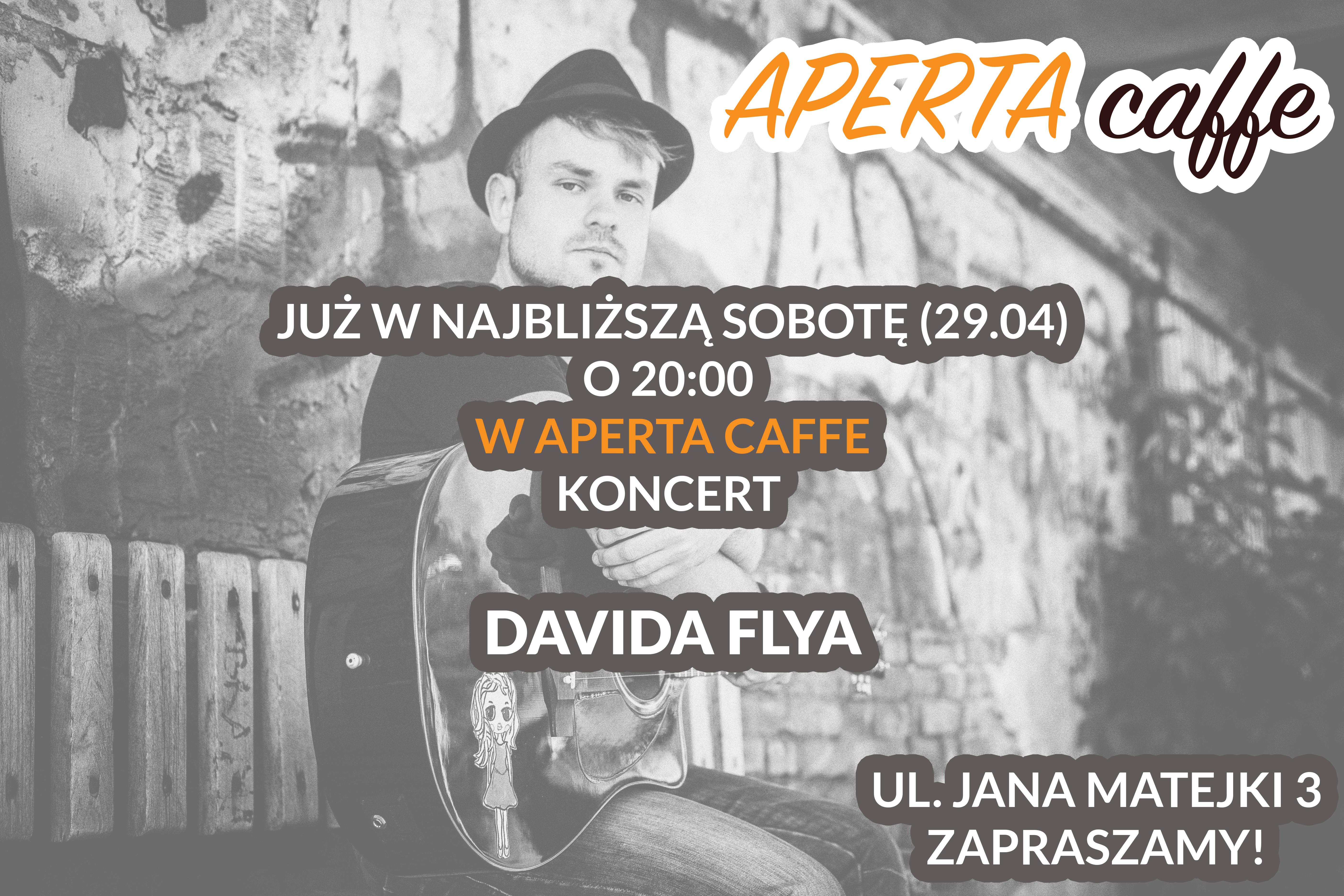 Aperta-Muzyka Na Żywo-Koncert Dawida Flaya