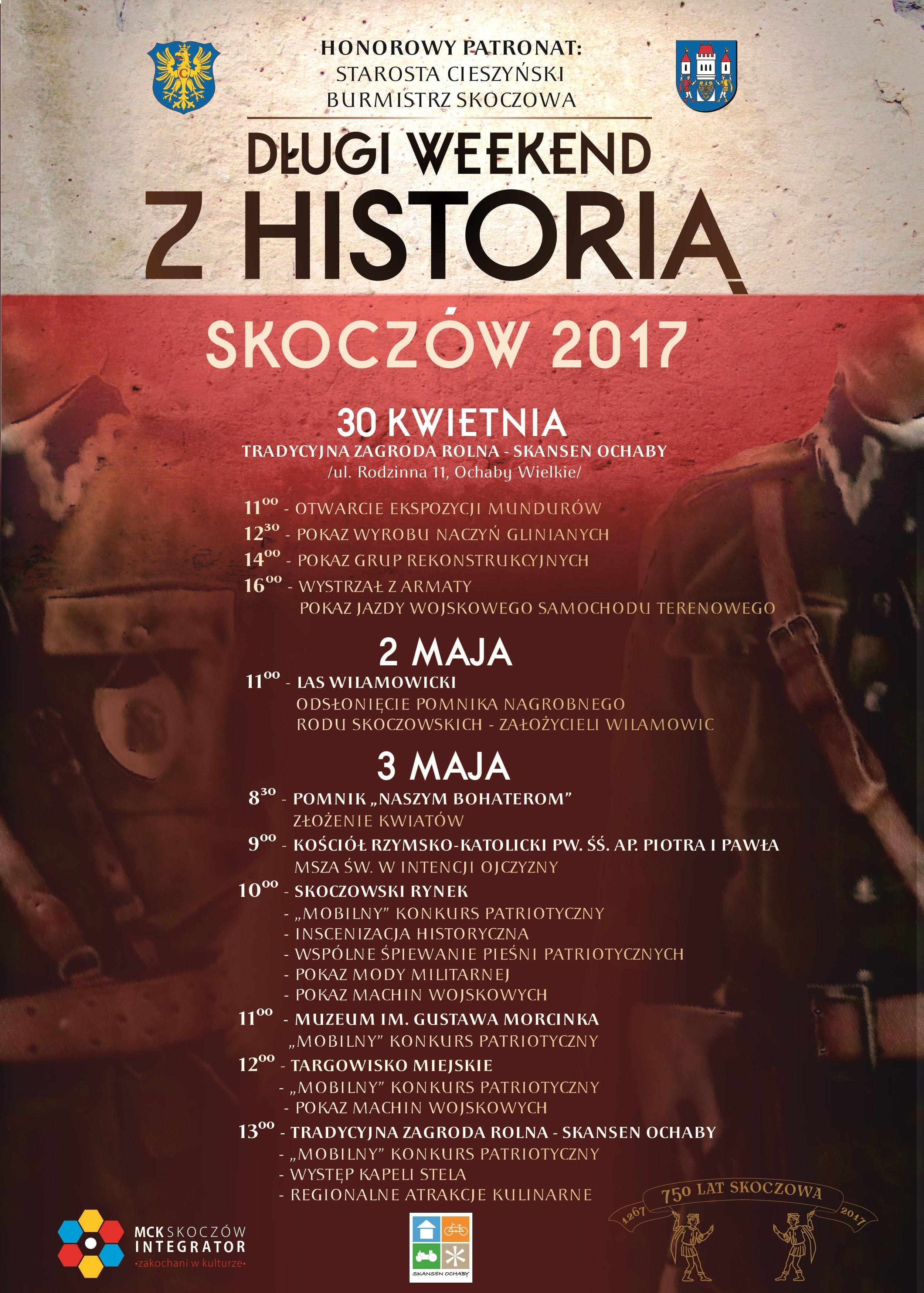 Długi Weekend Z Historią 30.04-3.05