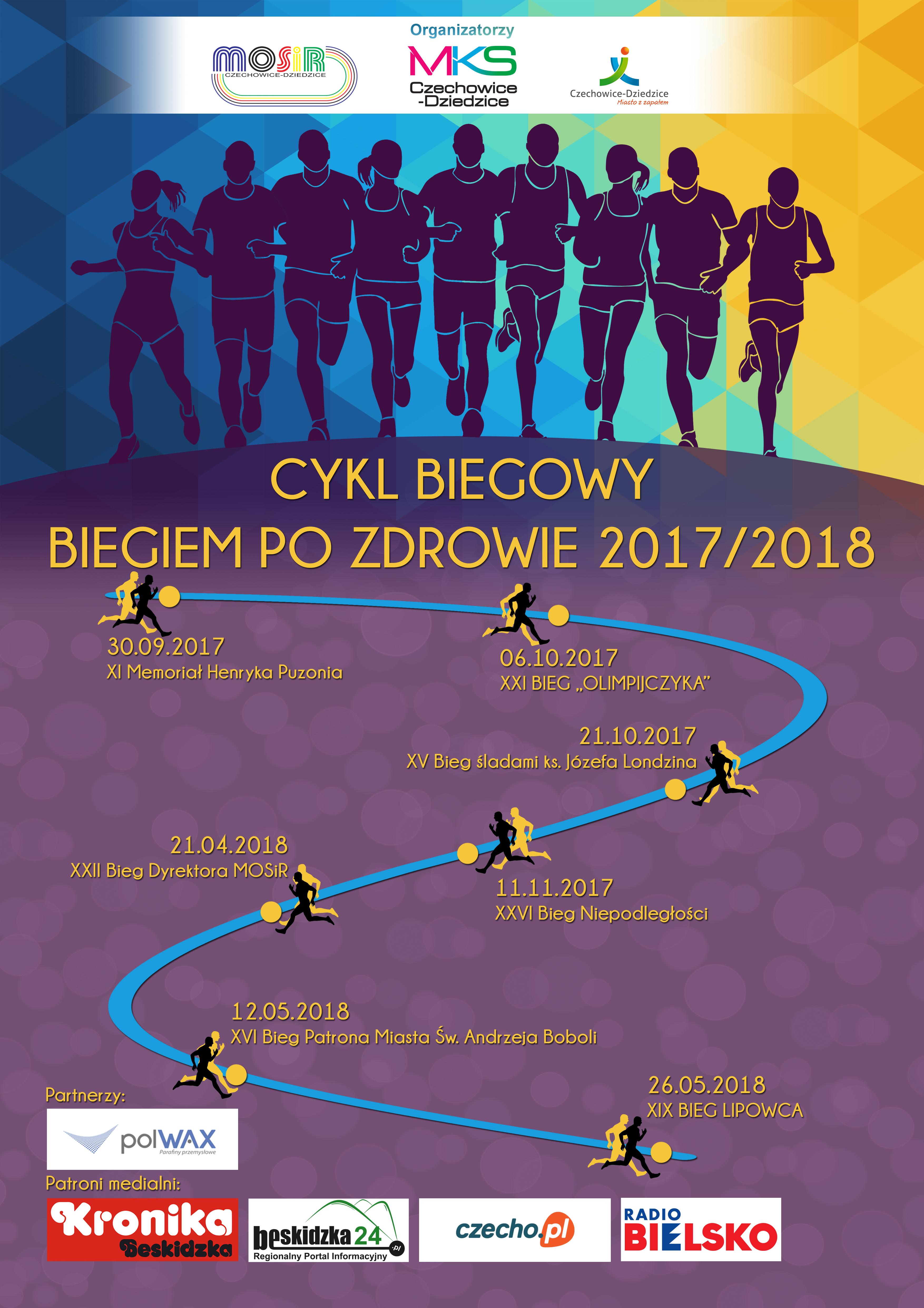 Cykl Biegowy Biegiem Po Zdrowie 2017/2018