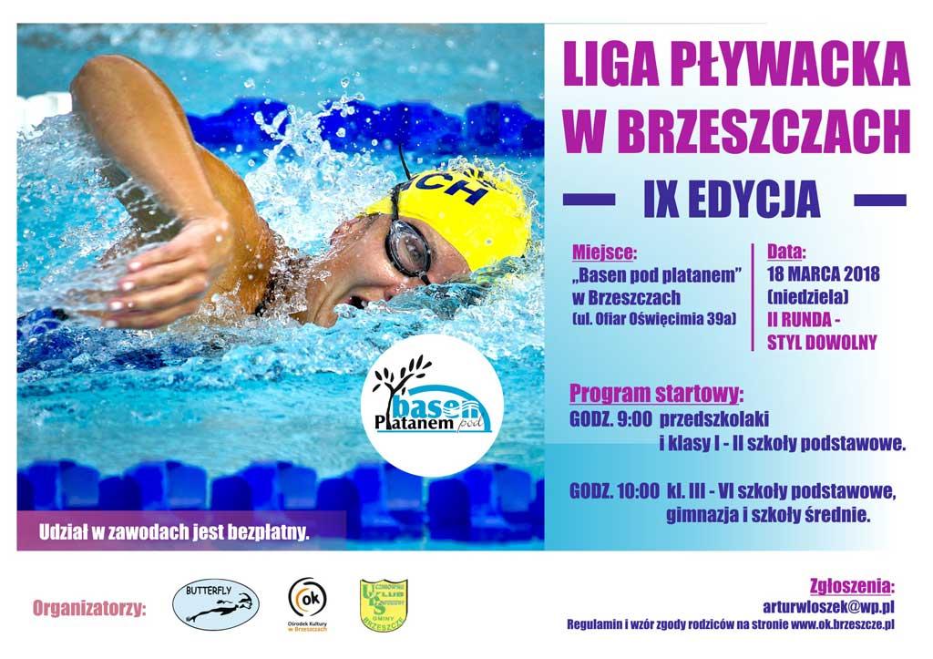 Liga Pływacka W Brzeszczach