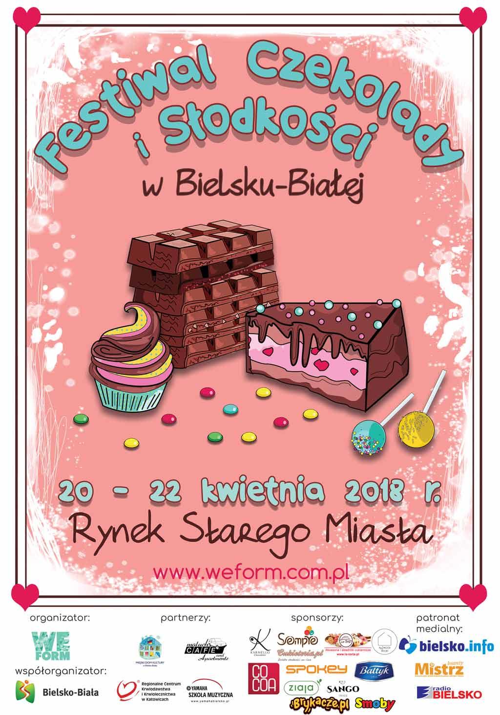 Festiwal Czekolady I Słodkości W Bielsku-Białej