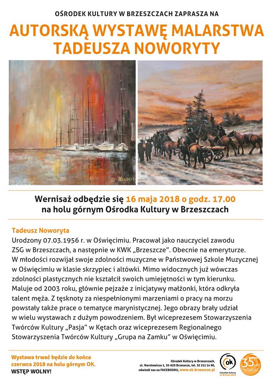 Wystawa Malarstwa Tadeusza Noworyty