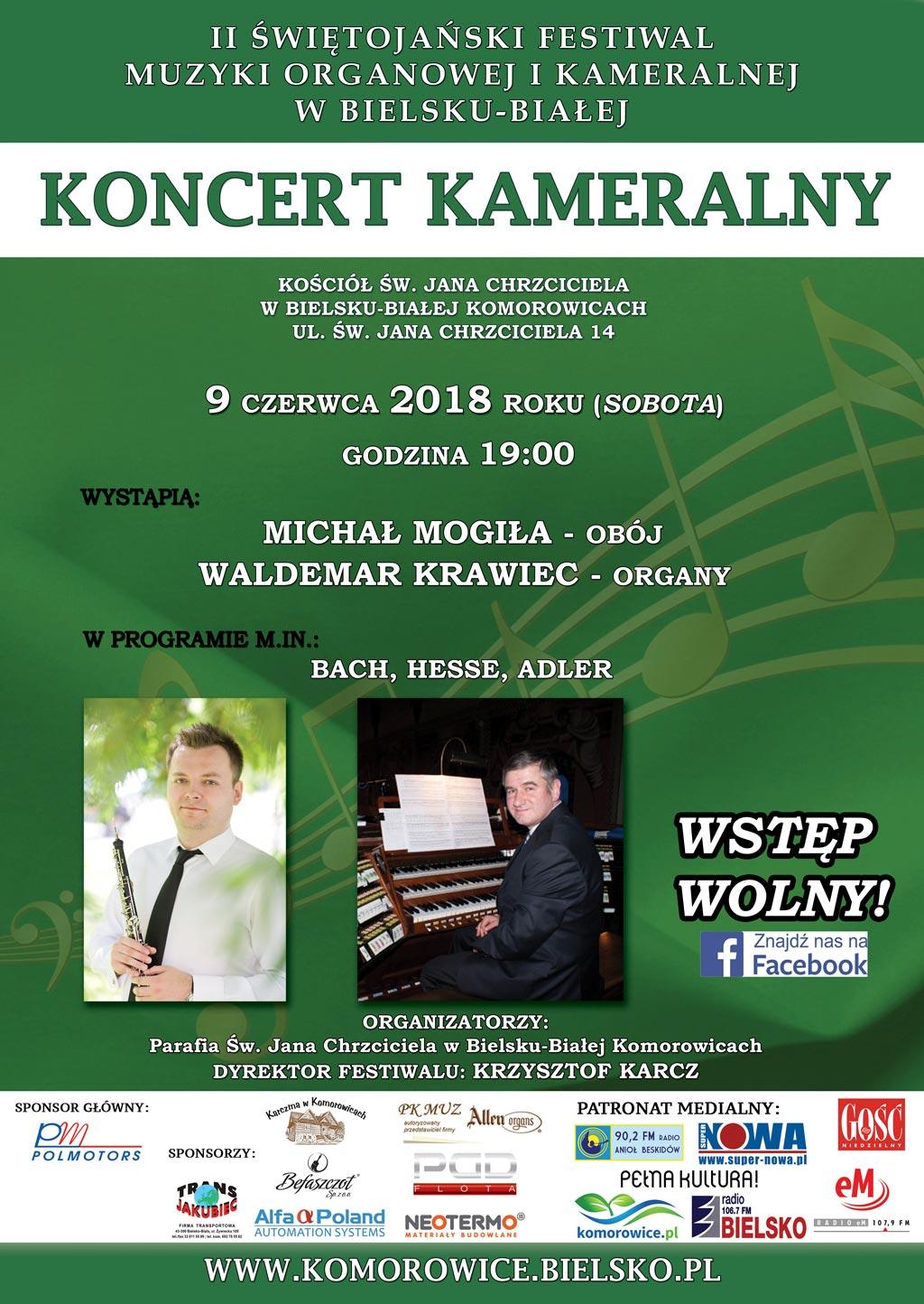 Ii Świętojański Festiwal Muzyki Organowej I Kameralnej W Bielsku-Białej